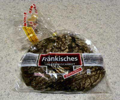 Fränkisches Brot, Oktober 2009