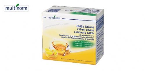 Heissgetränk mit Vitamin C, Januar 2008