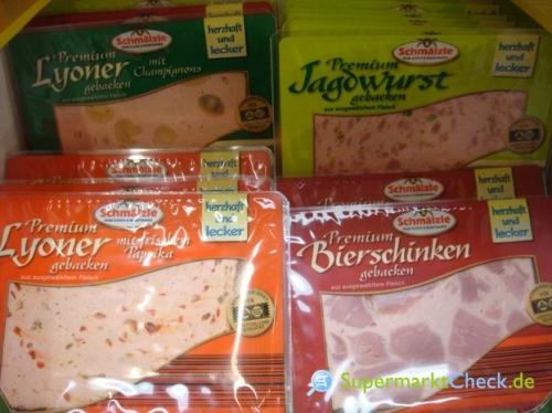 Premium Aufschnitt gebacken 4 Sorten, November 2011