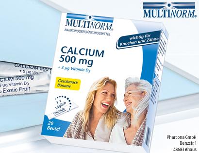 Calcium 500 mg, Oktober 2013