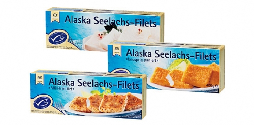 Alaska Seelachs-Filets MSC, M�rz 2008