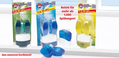 WC-Duftspüler, flüssig, 3x 55 ml, M�rz 2008