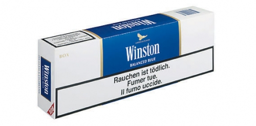 Winston blau (Stange), April 2008