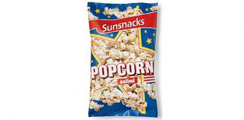 Popcorn gesalzen, Mai 2008