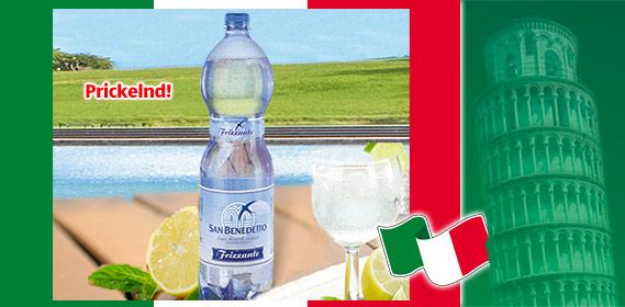 Mineralwasser, italienisch, Juli 2010