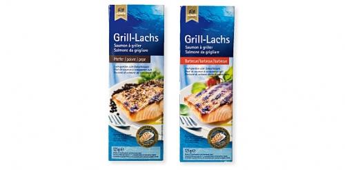 Grill Lachs, Juli 2008