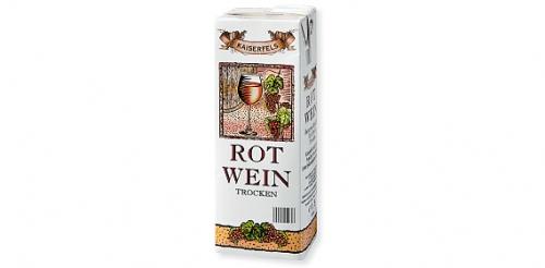 Rotwein Tetrapack