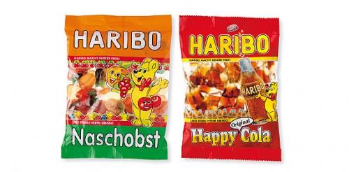 Fruchtgummi Naschobst/Happycola, Oktober 2008