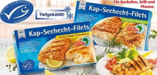 Kap-Seehecht-Filets, Oktober 2008