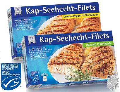 Kap-Seehecht-Filets, M�rz 2014