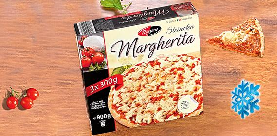 Pizza Margherita, 3x 300g, Mai 2012