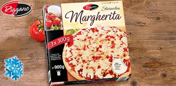 Pizza Margherita, 3x 300g, Dezember 2012