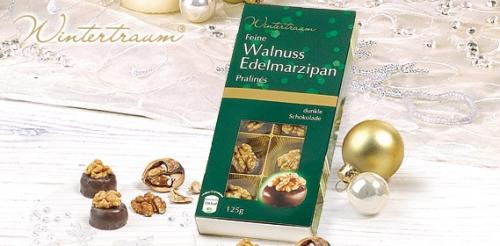 Walnuss-Edelmarzipan-Pralinés, Oktober 2008