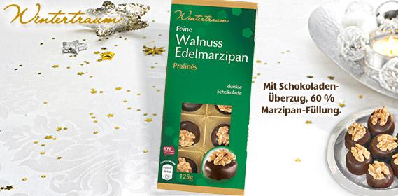Walnuss-Edelmarzipan-Pralinés, Oktober 2011