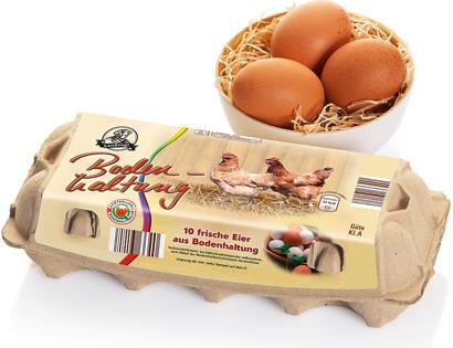Eier aus Bodenhaltung, Februar 2014