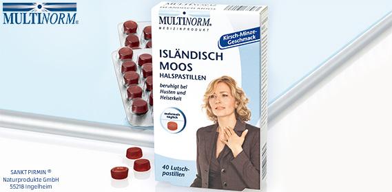 Isländisch Moos Halspastillen, Oktober 2012