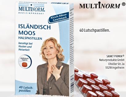 Isländisch Moos Halspastillen, Dezember 2013