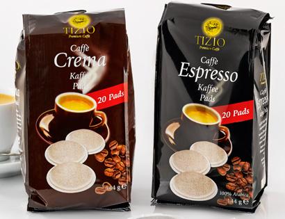 Caffé, Pads, M�rz 2014