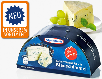Cremiger Weichkäse, Halbmondform, September 2013