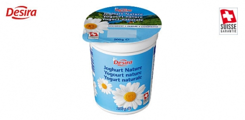 Schweizer Joghurt stichfest nature, Januar 2009