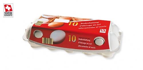 Schweizer Eier Bodenhaltung, Juni 2009