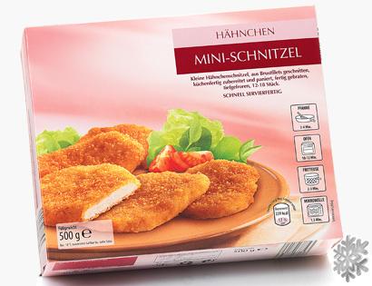 Hähnchen-Mini-Schnitzel, M�rz 2014
