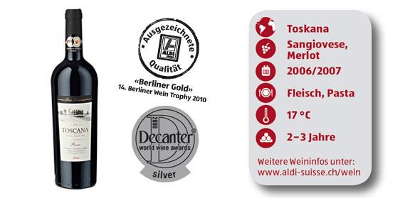Toscana IGT 2009, M�rz 2012