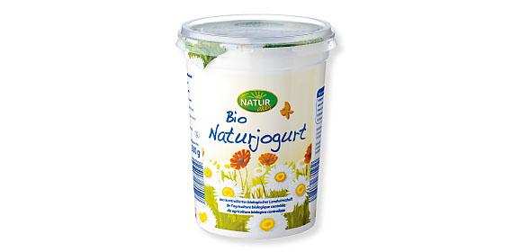 Bio-Naturjoghurt, April 2012