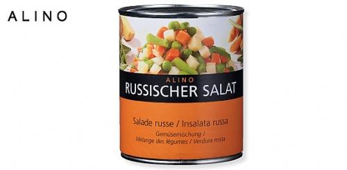 Russischer Salat, April 2009