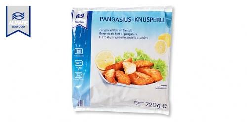 Pangasius / Egli Knusperli, Mai 2009