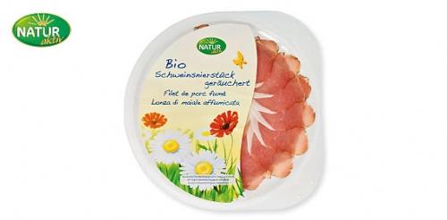 Bio Schweinsnierstück, August 2009