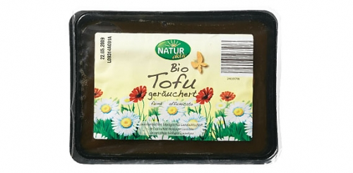 Bio Tofu geräuchert, August 2009