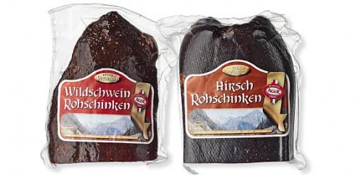 Rohschinken Hirsch/Wildschwein, September 2009