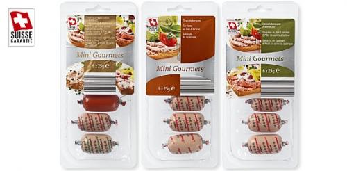 Streichwürste Mini Gourmets, Januar 2010