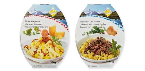 Schweizer Pasta Gerichte, Februar 2010