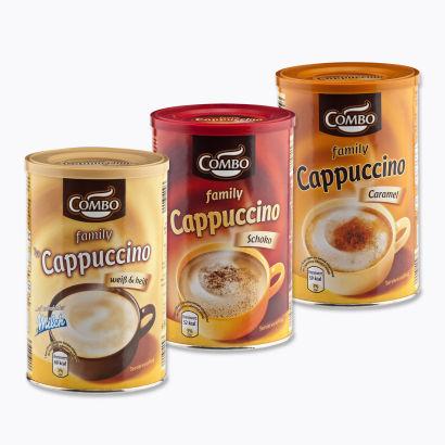 Family Cappuccino mit Schokonote, Februar 2015