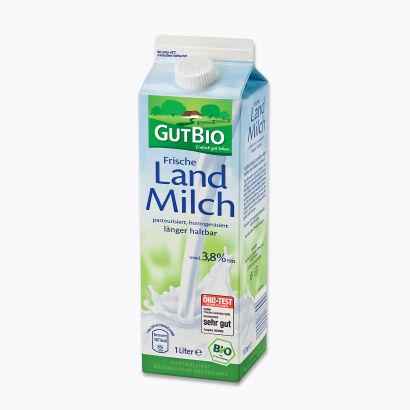 Frische Landmilch 3,8 %, Februar 2012