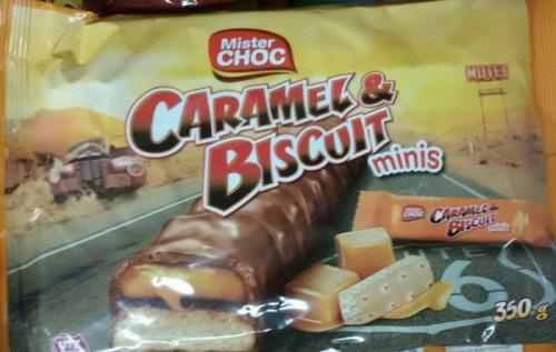 Caramel & Biscuit Minis, Mai 2018