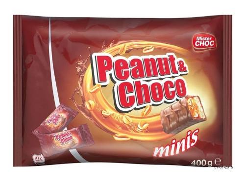 Peanut & Choco minis, Januar 2015