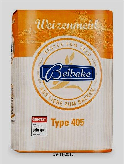 Weizenmehl, Type 405, November 2015