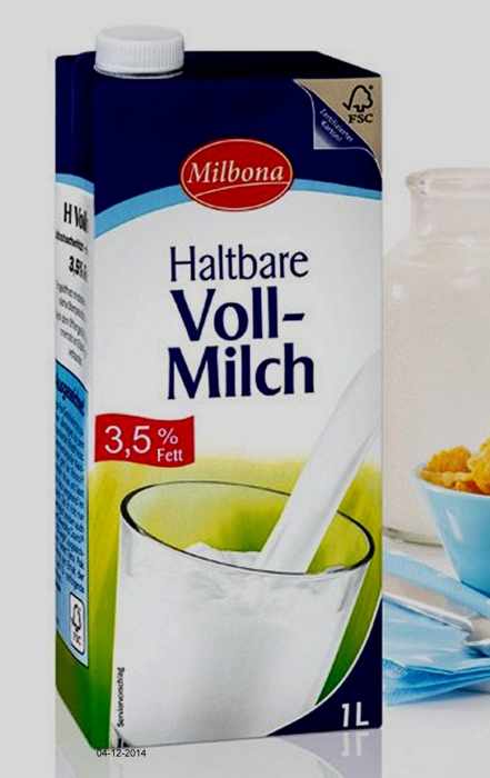 H-Milch 3,5%, Dezember 2014