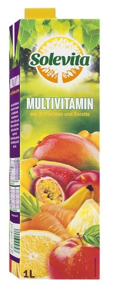 Multivitaminsaft, Juli 2017