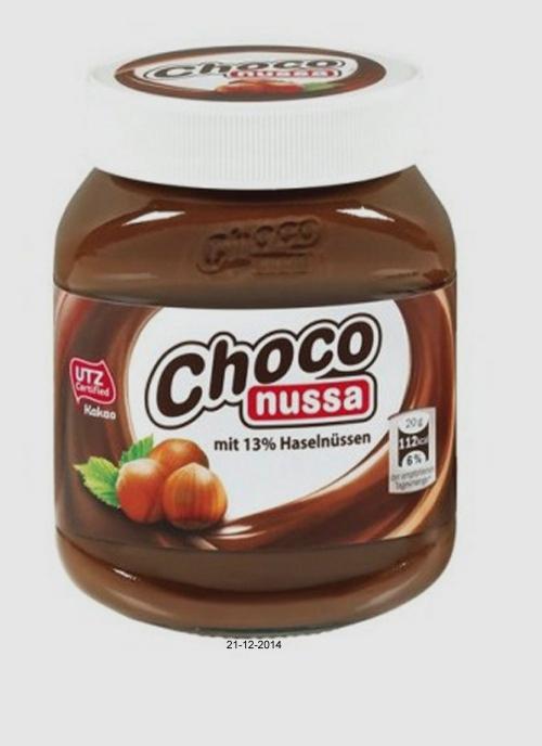"Nuss-Nougat-Creme ""Choco Nussa"", Dezember 2014"