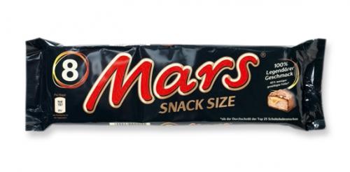 Mars Snack Size, September 2011