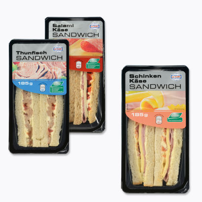 Frische Sandwiches, Januar 2013