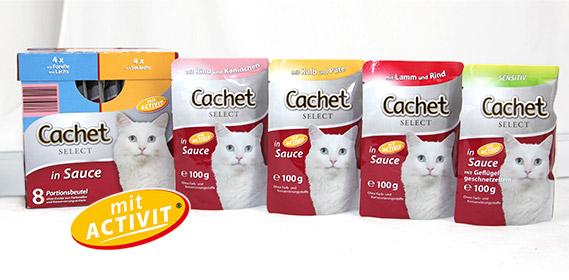 Katzenvollnahrung, 12x 100 g, Oktober 2011