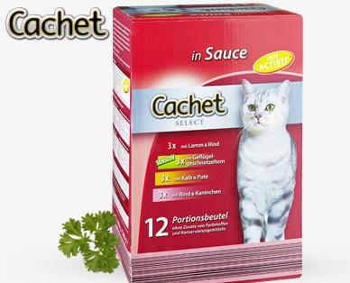 Cachet Katzenvollnahrung 12x 100 G Von Aldi Sud