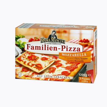 Familien Pizza, Februar 2012