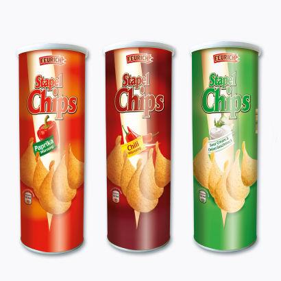 Stapel Chips, Januar 2013