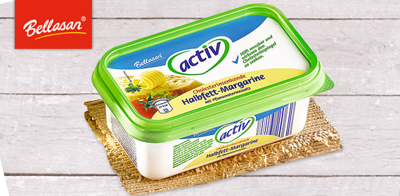 AKTIV Halbfett-Margarine, September 2012